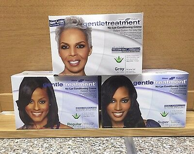 Johnson Products Gentle Treatment No-Lye Conditioning Creme Relaxer System