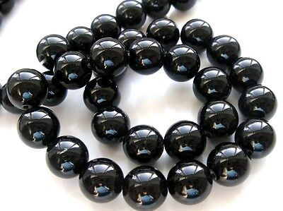 black onyx agate round faceted 4 6 8 10 12 14 mm gemstone beads