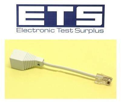 RJ45 To 631A BT 6 Way Plug Dongle Adapter Connector