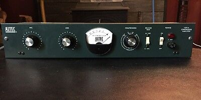 Altec 1591A Excellent W/ NOS 15095  Line And 1578 Preamps XLR Pigtail