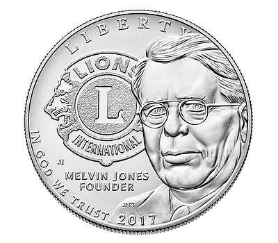 "2017 Lions Club International Uncirculated Silver Dollar "" Pre Sale """