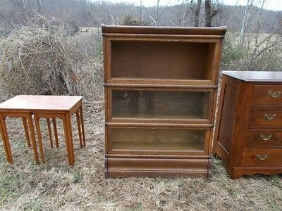 Antique Mission Oak Barrister / Lawyer's Bookcase ~ Wintergreen Central Virginia
