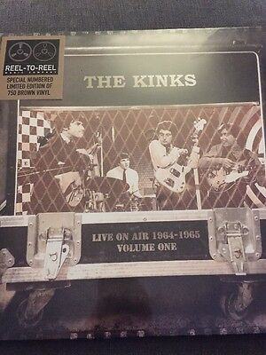 The Kinks - Live On Air 1964 - 1965 LP New Ltd Edt On Brown Vinyl - Numbered /