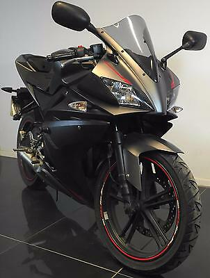 20012 62 Yzf-R125 R 125 Black Leaner Legal Project/trade Sale/spares/repair Catd