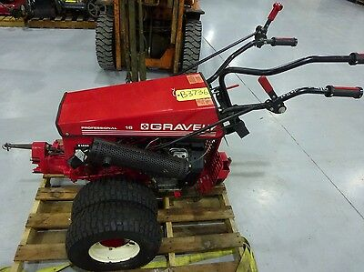 Gravely 16 HP Professional LUV Walk Behind Tractor