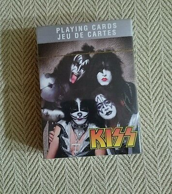 Kiss Playing Cards New Sealed