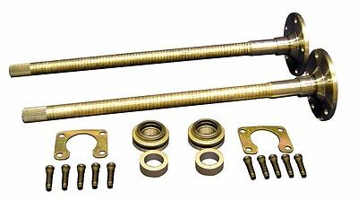 """Complete Rear Axle Setup 31 Spline w/ 11"""" Drums 76-77 Early Ford Bronco PAIR"""