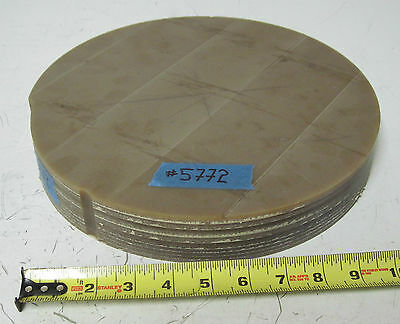 """11.5"""" Disc ULTEM 2300 Polytherimide 1.75"""" Thick, 10 lbs Thermoplastic Wholesale"""