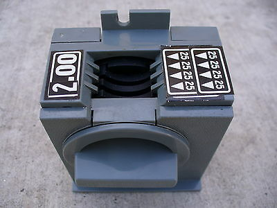 $2.00 $1.50 or $1.25 ANTARES COIN MECHANISM--for soda-snack vending machine.