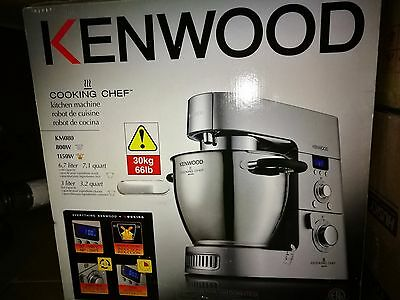 Kenwood KM080AT Cooking Chef Kitchen Machine Stand Mixer Silver