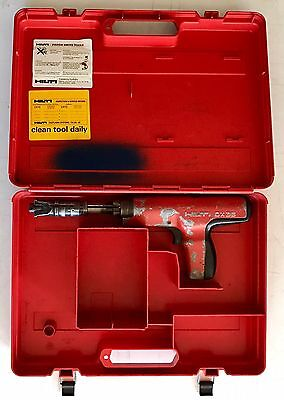 Hilti DX-35 Powder Actuated Nail Gun Fastening Systems Tool w/ Hard Case DX35