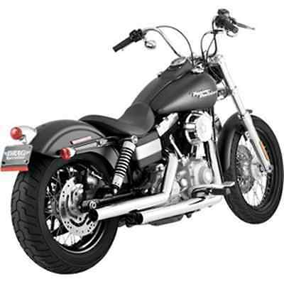 Vance & Hines Straightshots Exhaust System - Chrome 17819 HARLEY-DAVIDSON®