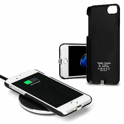 iPhone 7 Wireless Charger Kit 2 in 1 Qi Wireless Charging Pad Plus Receiver Case