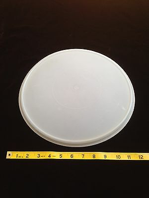 """Tupperware Vintage Sheer 12"""" Round #224 Seal for Cake Taker or Fix Mix Bowl"""