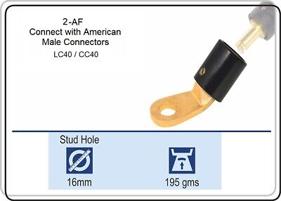 Af Terminal, 2-Af Insulated Positive-Cam Lug Terminal Use With Lc40, 2-Af, Qty 1