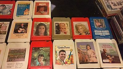 Lot Of 39 Country 8 Track Tapes J/cash G/jones Alabama Charlie Daniels C/twitty