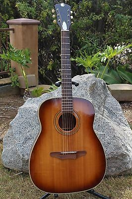 Beautiful Vintage 1970 Harmony Sovereign H-1260 Silvertone 1221 Acoustic Guitar!