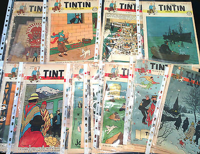 Journal Tintin 1946 & 1947 Vintage Comics - BUY INDIVIDUALLY Herge Couverture