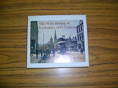 1841 Census West Riding Of Yorkshire Cd Set (Stepping Stones)