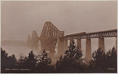 Forth Railway Bridge & Pine Trees, SOUTH QUEENSFERRY, West Lothian RP