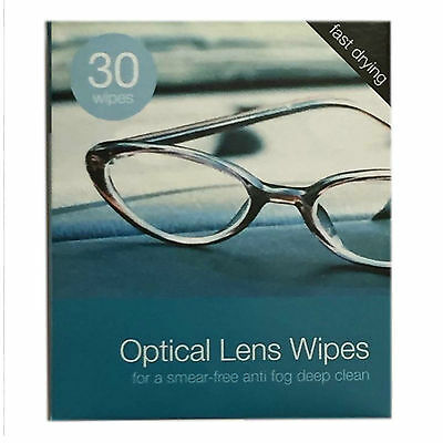 10-600 Optical Spectacle Glasses Glass Lens Monitor  Cleaning Wipes Free Postage