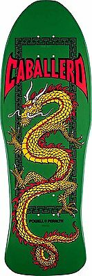 "Powell Peralta - Caballero Chinese Dragon Green 10.0"" Reissue Skateboard Deck"