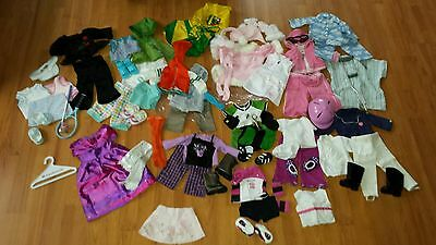 HUGE lot of American Girl Doll Clothes & Accessories outfits
