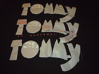 The Who's Tommy Vintage Shirt ( Used Size L ) Nice Condition!!!