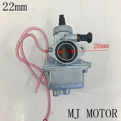 Molkt 26mm Racing Carby Carburetor  110 125 140 150cc PIT Pro ATV Quad Dirt Bike