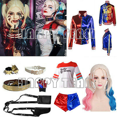 Suicide Squad Harley Quinn Jacket Coat Lil Monster Shorts Shirt Accessories Lot
