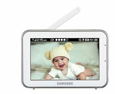 "Samsung Real View Baby Video Monitoring System  SEW-3042W 5"" Touch Screen HD"