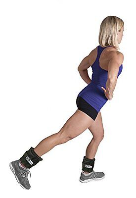 GoFit GF-5W Adjustable Ankle Weights (5 lb)