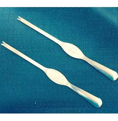 CRAB FORKS SET OF 6 - Shell Shellfish Fish Crustacean Crab Lobster Cray Tool Aid