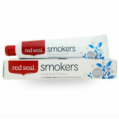 Red Seal Smokers Toothpaste