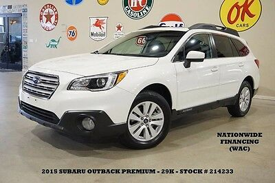 2015 Subaru Outback 2.5i Premium AWD,SUNROOF,NAV,BACK-UP,HTD CLOTH,29K 15 OUTBACK PREMIUM AWD,SUNROOF,NAV,BACK-UP,HTD CLOTH,17IN WHEELS,29K,WE FINANCE!