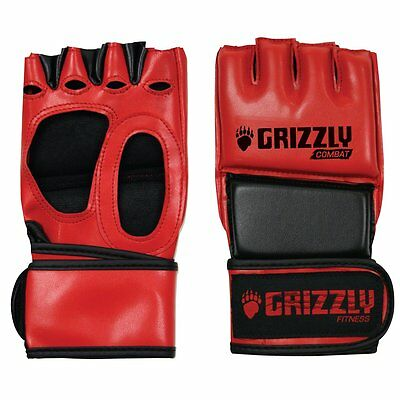 Grizzly Fitness 8762-0432-X-Large The Hammer MMA Training Gloves