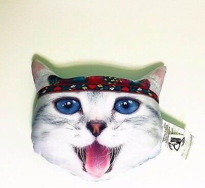 Kitty Cat Pillow Soft and Cuddly  Zippidy Kids