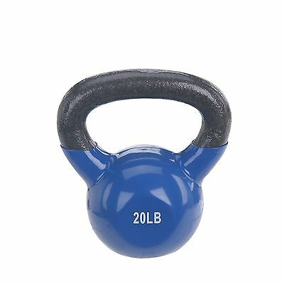 Sunny Vinyl Coated Kettle Bell (10-Pound)