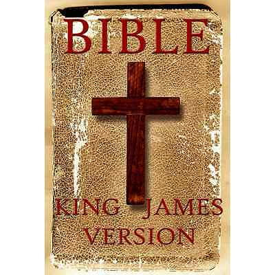 The King James Bible KJV, all 66 Books Old New Testament Audiobook on 2 MP3 CDs