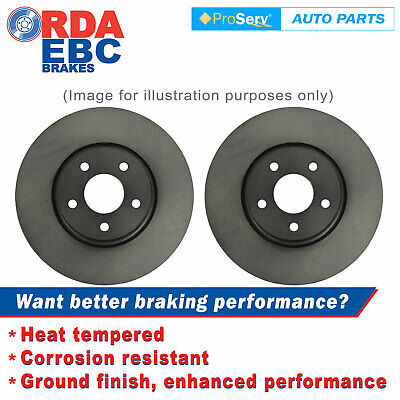 Front Disc Brake Rotors For Holden Astra Ts (Without Abs) 1998 - 3/2005