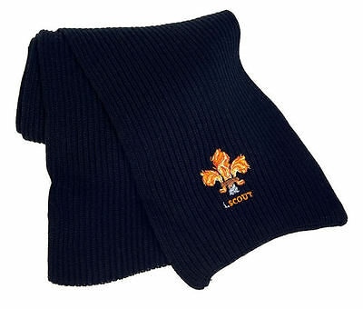 i.SCOUT Flame Logo Knitted Scarf