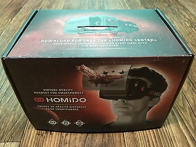 """HOMiDO Virtual Reality VR Headset for iPhone Android 4"""" to 5.5"""" Smartphones"""