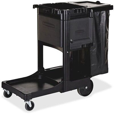 Rubbermaid Executive Janitor Cleaning Cart 1861430