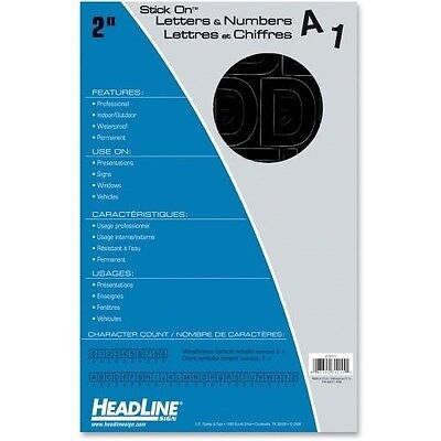 Headline Stick on Letters and Numbers 31211