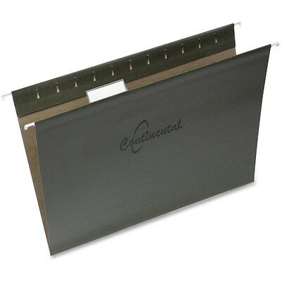 Continental 1/5-cut Tab Letter Sz Hanging Folders 30801