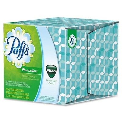 Puffs Plus Lotion with the Scent of Vicks 34431
