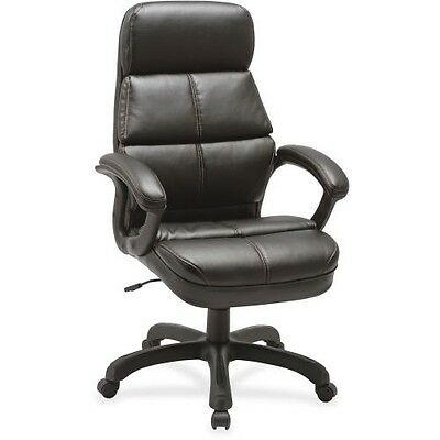 Lorell Luxury High-back Leather Chair 59533