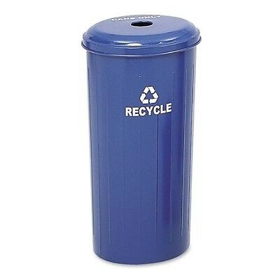 Safco Recycling Receptacle with Lid 9632BU