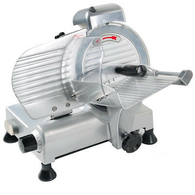 "8"" Commercial Electric Blade Meat Slicer Cutter Food Cheese Veggies INCD VAT"