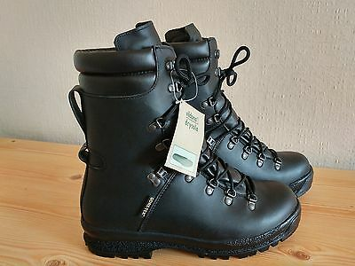 BRAND NEW, GORE-TEX Vibram PRABOS S00625 Leather Military High Top Boots UK 10M